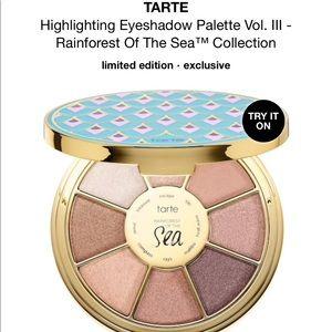 (NEW) Tarte eyeshadow palette